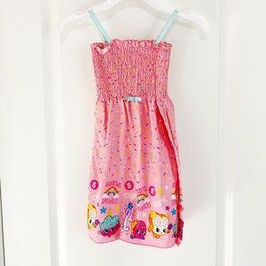 Handmade Shopkins Summer Dress size 4/5